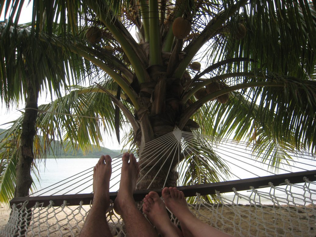 Entspannung am Hotelstrand