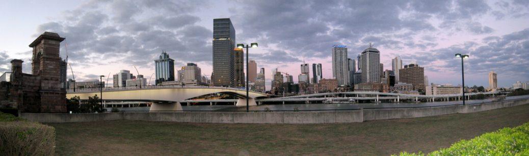 Brisbane Panorama Skyline