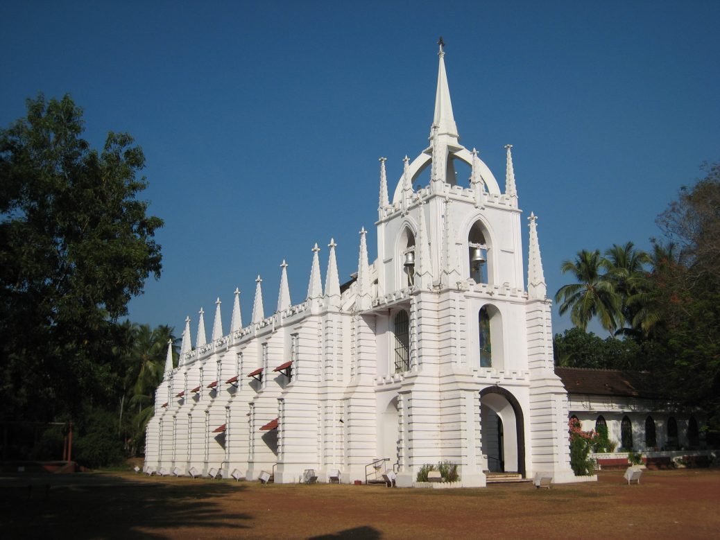 Hochzeitskirche in Saligao