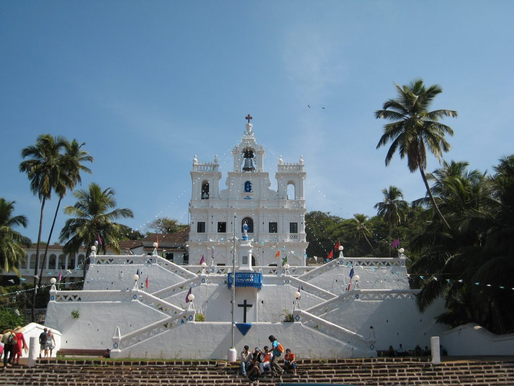 "Die ""Our Lady of the Immaculate Conception Church"" in Panjim"