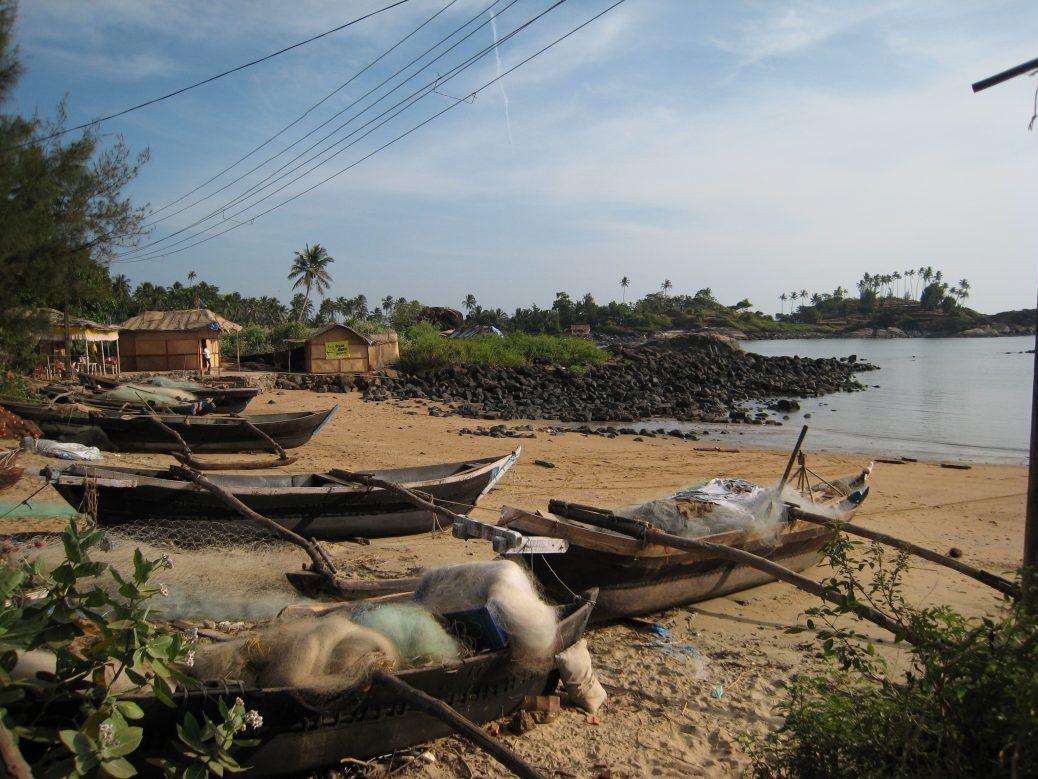 Fischerboote - Palolem Beach