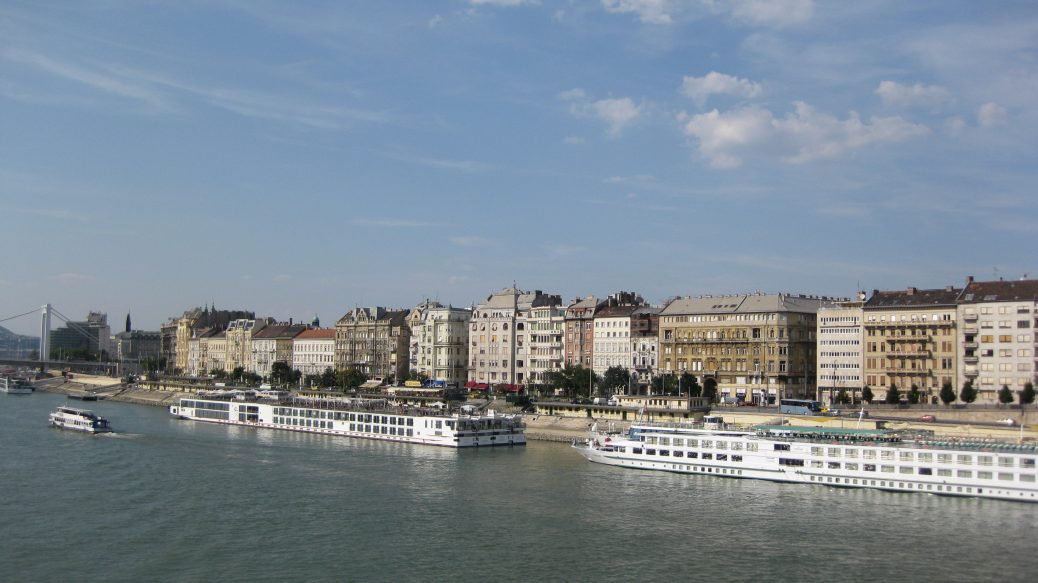 Budapest an der Donau