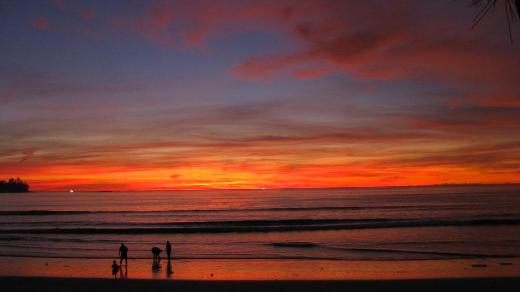 Sonnenuntergang Kamala Beach
