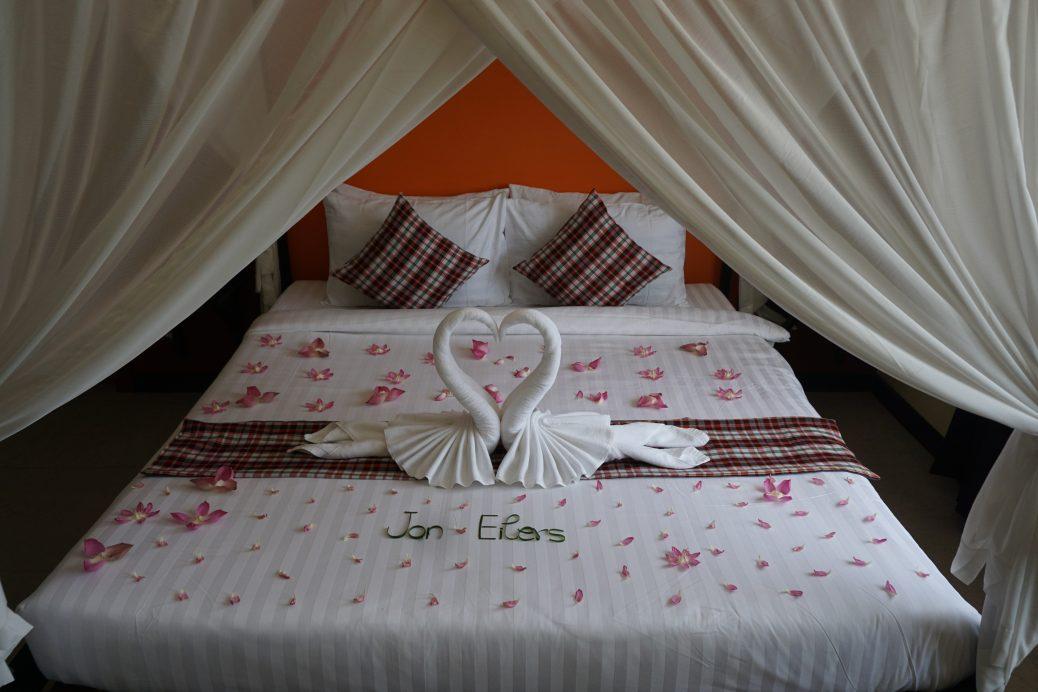 Zimmer im Central Indochine