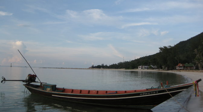 Von Krabi über Surat Thani nach Koh Phangan