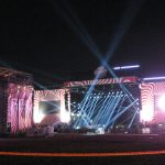 Licht und Soundtest Sziget 2015