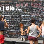 Jeder hat die Möglichkeit seine Ziele zu veröffentlichen - Before i die wall
