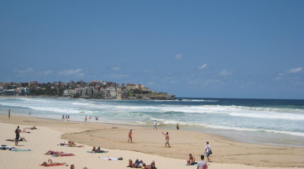 Sydneys Stadtstrand Bondi Beach ist wohl der bekannteste Strand Australiens