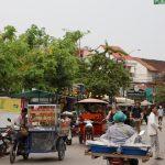 Fliegende Händler in Siem Reap