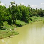 Sangkhae Fluss bei Battambang