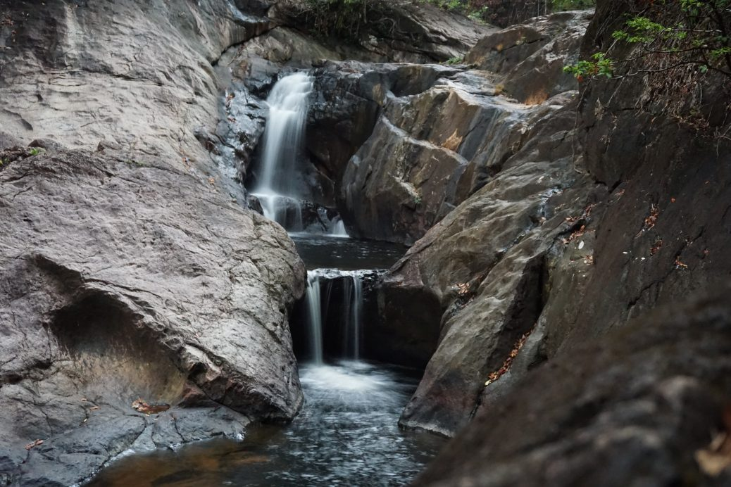 Than ma yom Waterfall auf Koh Chang