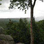 Ausblick am Phaeng Noi Wasserfall